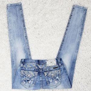 Miss Me Signature Skinny Jean's.  Size 27.